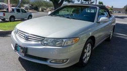 2002 Toyota Camry Solara SLE Convertible 2D