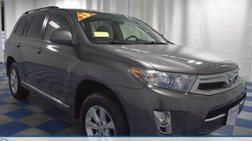 2013 Toyota Highlander Hybrid Base