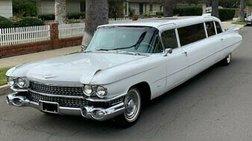 1959 Cadillac Fleetwood 1959 CADILLAC FLEETWOOD SUPER STRETCH LIMOUSINE