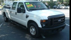 2008 Ford F-250 Lariat Crew Cab Long Bed 2WD