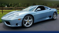 2001 Ferrari 360 COUPE~CLEAN CARFAX~ AWESOME COLOR~ EXCELLENT CONDI