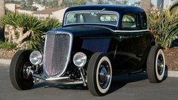 1934 Ford Cobalt blue top