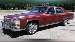 1987 Cadillac Brougham Base