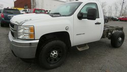 2012 Chevrolet Silverado 2500 3500 4X2 8FT CAB CHASSIS  6.0 AUTO 3:73
