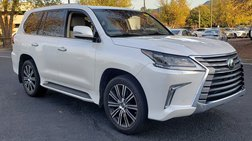 2018 Lexus LX 570 LX 570 THREE ROW 4WD