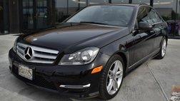 2013 Mercedes-Benz C-Class Sport / AWD / Heated Leather Seats / Navigation / Harman Kardon Speakers / Sunroof / Bluetooth / Cruise Control / 28 MPG