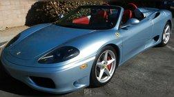 2002 Ferrari 360 Base 2dr Convertible