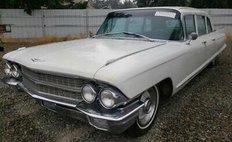 1962 Cadillac Fleetwood 1962 CADILLAC FLEETWOOD 75 LIMOUSINE