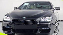 2015 BMW 6 Series 650i Gran Coupe