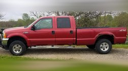 2001 Ford F-250 XL Crew Cab Short Bed 4WD