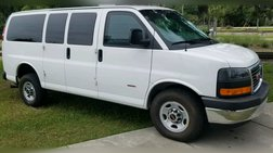 2014 GMC Savana Passenger LT 3500