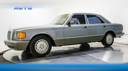 1984 Mercedes-Benz 380-Class 380 SE