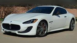 2014 Maserati GranTurismo S Coupe  $139K MSRP