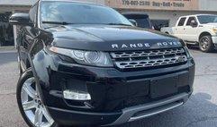 2013 Land Rover Range Rover Evoque Coupe Pure Plus