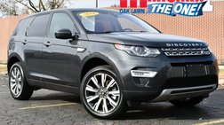 2018 Land Rover Discovery Sport HSE Luxury