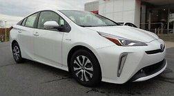 2021 Toyota Prius 2021 Prius LE All Wheel Drive Wind Chill Pearl