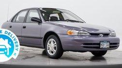 1998 Chevrolet Prizm LSi