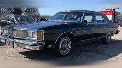 1982 Oldsmobile Ninety-Eight Regency Brougham