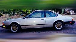 1983 BMW 6 Series 633CSi