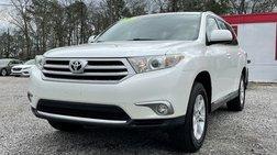 2012 Toyota Highlander Sport Utility 4D