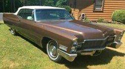 1968 Cadillac DeVille CONVERTIBLE/ CLEAN TITLE/ 37K MILES