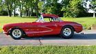 1957 Chevrolet Corvette Black interior