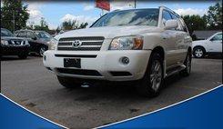 2006 Toyota Highlander Hybrid Limited 2WD
