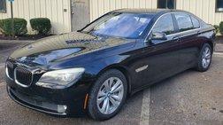 2012 BMW 7 Series ActiveHybrid 750i