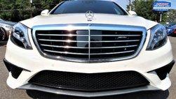 2016 Mercedes-Benz S-Class AMG S 63