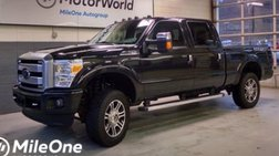 2014 Ford Super Duty F-350 Platinum