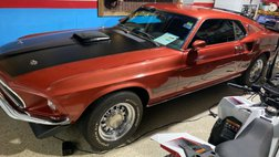 1969 Ford Mustang Mach 1 - 428 Cobra Jet R Code 4 Speed