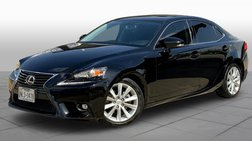 2015 Lexus IS 250 Crafted Line