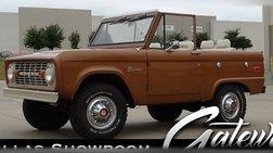 1973 Ford Bronco U15