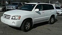 2001 Toyota Highlander Base