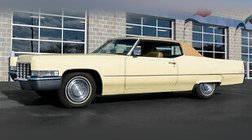 1969 Cadillac DeVille 45k Original Miles