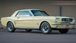 1966 Ford Mustang Springtime Yellow   289 V8   Power Steering and B