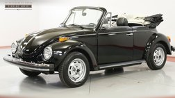 1979 Volkswagen Beetle RESTORED CV RARE KARMANN TRIPLE BLACK