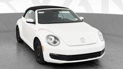 2013 Volkswagen Beetle 2.5L Convertible 2D