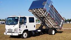 2021 Isuzu 14' BABCO Aluminum Landscape Dump Truck. Check Availability