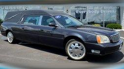 2001 Cadillac DeVille 4dr Sdn Funeral Coach