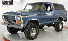 1979 Ford Bronco RESTORED CHROME 351 V8 LIFT PS PB AUTO 4x4