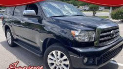2015 Toyota Sequoia Platinum
