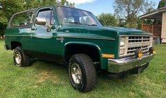 1986 Chevrolet Blazer 1986 CHEVROLET K5 BLAZER 4X4