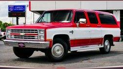 1988 Chevrolet Suburban R20