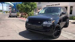 2014 Land Rover Range Rover Base