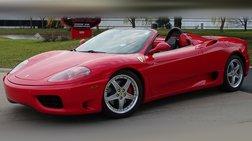 2004 Ferrari 360 Spider Base