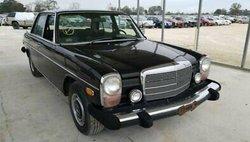 1975 Mercedes-Benz 1975 MERCEDES-BENZ 240D