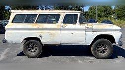 1962 Chevrolet Suburban 1500 4WD