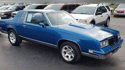 1986 Oldsmobile Cutlass Salon Base
