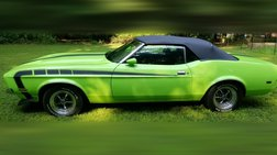 1973 Ford Mustang Convertible with factory A/C (One Off) Resto Mod (rare car)